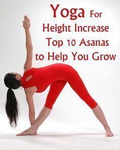 Parivrtta Trikonasana:- This is known as the Reverse Triangle Pose. This helps in body balance and gaining height.