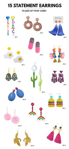 The Year Of The Statement Earring +15 Of My Faves! | Studio DIY