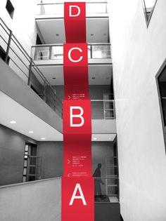 Elisava School of Design Signage