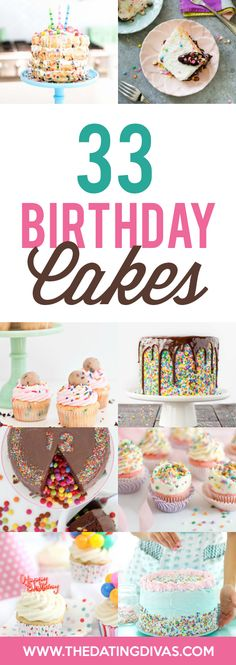 Birthday Cake Ideas- tons of photos for inspiration Creative Birthday Cakes, Adult Birthday Cakes, Birthday Treats, Birthday Dinners, Birthday Desert, 33rd Birthday, Birthday Fun, Birthday Stuff, Birthday Traditions