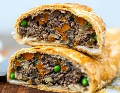 Ground Beef Wellington-the most elegant and the best tasting meat loaf you will ever eat!