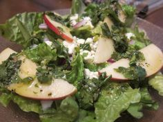Mixed Greens & Piñata Apple Salad W/Cotija for 1. Photo by Elaniemay