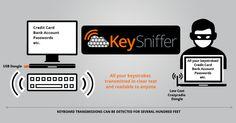 KeySniffer Lets Hackers Steal Keystrokes from Wireless Keyboards #esflabsltd #securityawareness #cybersecurity