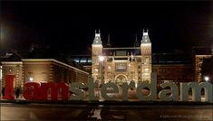 Rijksmuseum Iamsterdam by night Holland, Amsterdam, Mansions, House Styles, Night, Home Decor, The Nederlands, Decoration Home, Manor Houses