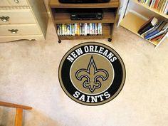 "NFL - New Orleans Saints Roundel Mat 27"""" diameter"