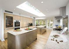 futuristic kitchen design inspiredorigami | home + ideas