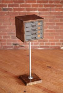 Side table with Drawers (by James Worsham, Nashville TN)