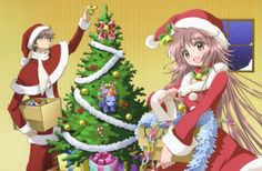KOBATO chan and fugimoto kun! Christmas Couple, Christmas Love, Merry Christmas, Christmas Ornaments, Manga Naruto, Anime Manga, All Anime, Anime Boys, Manga Couple