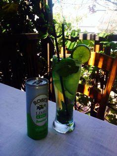 Refreshing pre mixed Roses's lime & soda with some fresh mint & lemon Lime Soda, Fresh Pasta, Fresh Bread, Fresh Mint, Beautiful Gardens, Yummy Treats, Lemon, Glass, Drinkware
