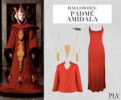 Wer ist das? Die Königin von Naboo im galaktischen Senat,Anikan's geheime Liebe und die Mutter von Luke Skywalker: https://www.youtube.com/watch?v=xAd-W5ZCrjQ  Was macht den Look perfekt? Der männliche Gegenpart Anakin Skywalker.  Wo find ich das Outfit? http://www.plvfashion.ch/de/promotion/227/star-wars-padme-amidala