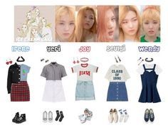"""""""RED VELVET - ICE CREAM CAKE❤️"""" by mabel-2310 on Polyvore featuring DANNIJO, Alexander McQueen, Filles à papa, Topshop, Versace, Vans, Tarina Tarantino, Front Row Shop, Lynn Ban and Tatty Devine"""