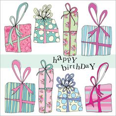 Happy Birthday Presents - greetings cards for women from Phoenix Trading £1.75 each or £1.40 when buying 10 or more.