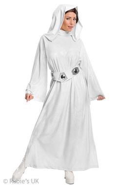 Rubies Womens Star Wars Classic Deluxe Princess Leia Costume -- Star Wars is back and better than ever with tons of great options to choose from for Halloween Costumes. Check out this star wars costume and all of our others! Costume Leia, Costume Star Wars, Star Wars Halloween Costumes, Got Costumes, Adult Costumes, Costumes For Women, Cosplay Costumes, Halloween Cosplay, Costume Ideas