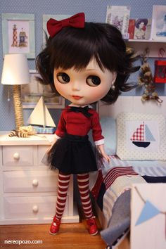 just because I love #blythe dolls . customized