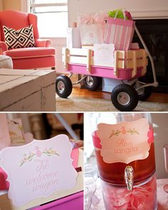 Welcome Wagon For  Baby - I love this! Want to do this for Jennifer and Paisley!