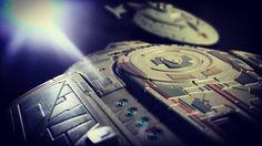 New photo online USS #defiant meets #voyager from #startrek by #eaglemoss Hope you like it