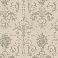 Find sophisticated detail in every Laura Ashley collection - home furnishings, children's room decor, and women, girls & men's fashion. Grey Damask Wallpaper, Floral Pattern Wallpaper, Striped Wallpaper, Wall Wallpaper, Ashley Store, Sunshine Wallpaper, Washable Wallpaper, Romantic Shabby Chic, Morris
