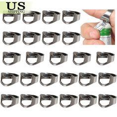 Lot+of+25PCS+Stainless+Steel+Finger+Ring+Bottle+Opener+Thumb+Beer+Bar+Tool+Party+#UnbrandedGeneric
