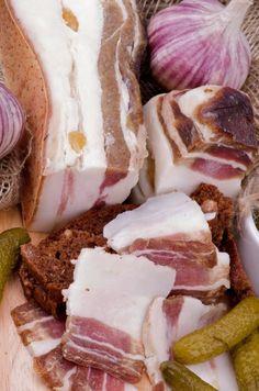 Solená slanina - Recept pre každého kuchára, množstvo receptov pre pečenie a varenie. Recepty pre chutný život. Slovenské jedlá a medzinárodná kuchyňa