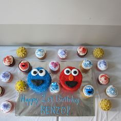 Sesame street cakes & cupcakes