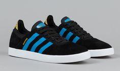 adidas Skateboarding Busenitz ADV Black & Solar Blue