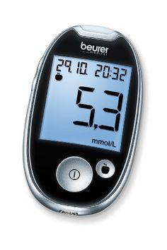 Beurer GL 44 Blutzuckermessgerät mmol/l (Schwarz, Sichere (Schwarz) Digital Alarm Clock, Cooking Timer, Diabetes, Monitor, Ebay, Home, New Fashion Trends, Products, Health