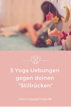 """5 yoga exercises against your """"still back"""" - Yogamaya - Back pain in the upper back from breastfeeding? These 5 yoga exercises will help you quickly agains - Yoga Flow, Yoga Meditation, Yin Yoga, Pregnancy Workout, Pregnancy Tips, Baby Workout, Yoga Sequences, Yoga Poses, Yoga Inspiration"""