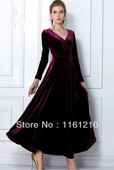 Cheap dresses green, Buy Quality dress star directly from China dresses female Suppliers:  Item description:Evening Maxi Dress Formal Gown 1.Fabric: Velvet 2.measureme
