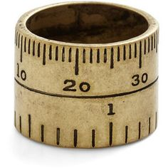 ModCloth Nifty Nerd Unity of Measure Ring