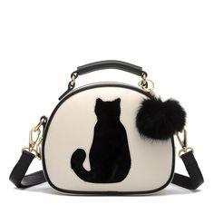 f2fe2ad76f2f Meow Cat Ladies Handbag purse. crazy cat lady. 29.90 Alibaba Group