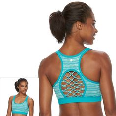 1b01246fc0070 90 Degree by Reflex Sports Bra  Printed Medium-Impact BW2591
