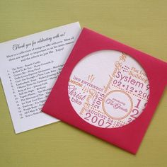 Cd wedding favours