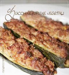 La zucca capricciosa: Zucchine ripiene vegetali