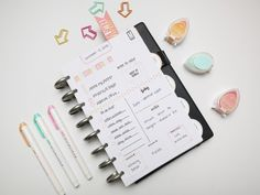 Hi everyone! I'm really excited to share today's project with you all, I had such a fun time putting it together. Recently I've been experiencing a little planner un-peace with my daily planning in...