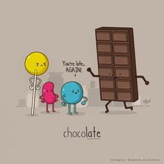 funny-cool-illustrations-chicquero-chocolate-candy