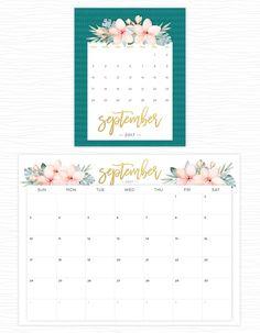 Calendários 2017 para baixar e imprimir | O Mundo de Jess