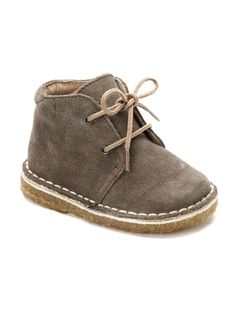 Baby Boy's Ankle Boots BROWN+GREY