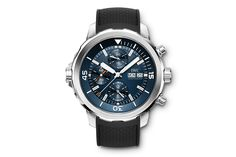 IWC Aquatimer Expedition Jacques-Yves Cousteau.