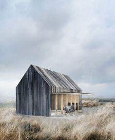 Ein graues Gartenhaus für Sie. Mehr auf https://www.pineca.de/