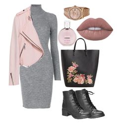"""""""Untitled #17"""" by nitakadir on Polyvore featuring Dsquared2, MANGO, Chanel, Avenue and Rolex"""