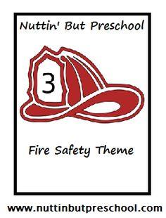 » Fire Safety Theme Nuttin' But Preschool