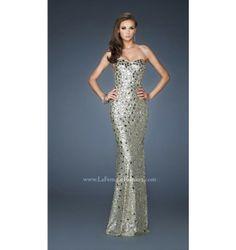 $550.00 LaFemme Prom Dress at http://viktoriasdresses.com/ Through John's Tailors