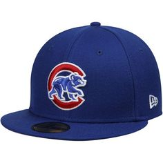 210978d6d46 Chicago Cubs New Era Crawling Bear 59FIFTY Fitted Hat - Royal