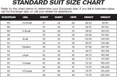 Mens suit size chart fashionfilmsnyc com do s and don ts tips