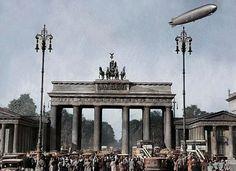 Zeppelin, Facebook, Photos, Brandenburg Gate, Parisian, Pictures