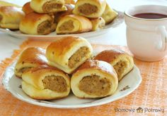 Polish Recipes, Polish Food, Dumplings, Pretzel Bites, Natural Remedies, French Toast, Food And Drink, Menu, Yummy Food