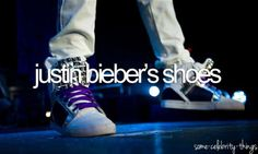 justin biebers shoes