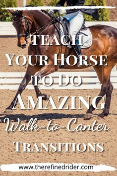 Walk to canter transitions can be a breeze you you and your horse if you know how to set them up. Try this great dressage exercise to help you set up your transition in a way that makes it easier for the horse. #walktocantertransitions #dressage training #dressageexercises #Dressage2ndlevel Horseback Riding Tips, Perfect Legs, Dressage, Walking, Horses, Teaching, Horse Stuff, Equestrian, Breeze