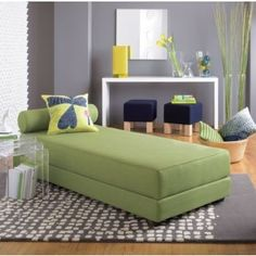 Thinking this daybed could be the perfect way to turn our office into an office/guest room. by carmela