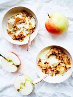 DILLIÄ JA PIPARJUURTA: Ilman valkoista sokeria - omena-kaurapaistos &…
